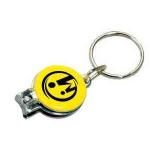 Nail Clipper with Safety Key Ring